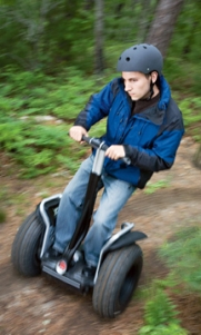The off road Segway